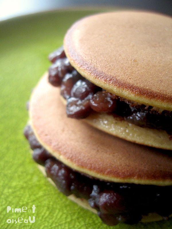 Dorayaki: pancakes japonais à la confiture d'azuki