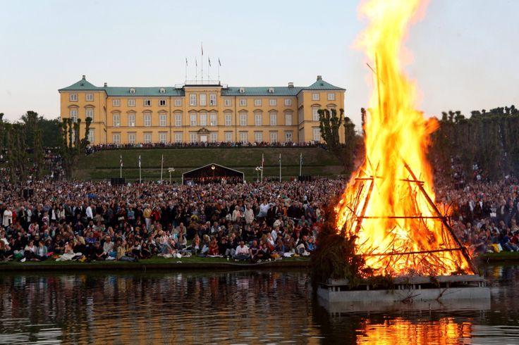 Sankt Hans bål (Midsummer bonfire), Denmark, Copenhagen