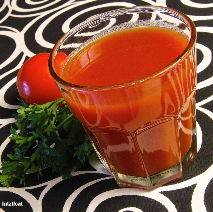 Homemade Tomato Juice Cocktail is an excellent substitute for V-8 ...