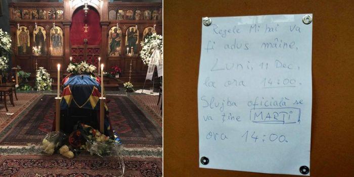 Jurnalista Alexandra Tănăsescu, aflată la Lausanne pentru a transmite imagini despre slujba din biserica din localitate, spune că este cea mai tristă înmormântare la care a participat.