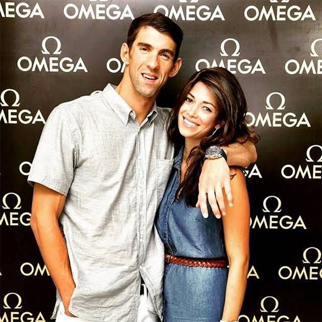 Michael Phelps' Heartfelt Message to Fiancée Nicole Johnson is Total #HusbandGoals