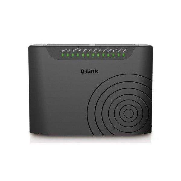 Routeur Modem D-Link Dual Band Wireless AC750 VDSL2+/ADSL2