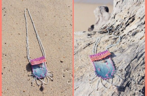 Make: FP Escapes Pouch Necklace – Free People Blog | Free People Blog #freepeople