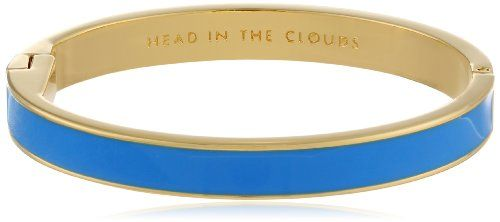 "#deal kate spade new york ""Idiom Bangles"" Head In The Clouds Solid Hinged Bangle Bracelet"