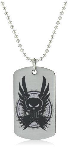 Marvel Comics Punisher Dog Tag Men's Pendant Necklace Marvel Comics. $7.50. Made in China