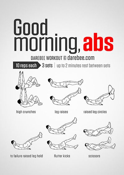 Good Morning Abs Workout                                                                                                                                                                                 More