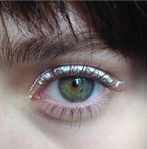 "dentureteeth: "" eyes by fka twigs' makeup artist, bea sweet """