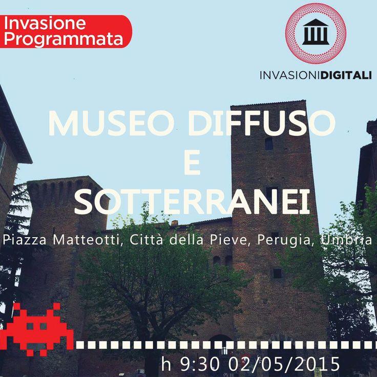Museo Diffuso e Sotterranei di Città della Pieve #invasionidigitali #invadiCdp