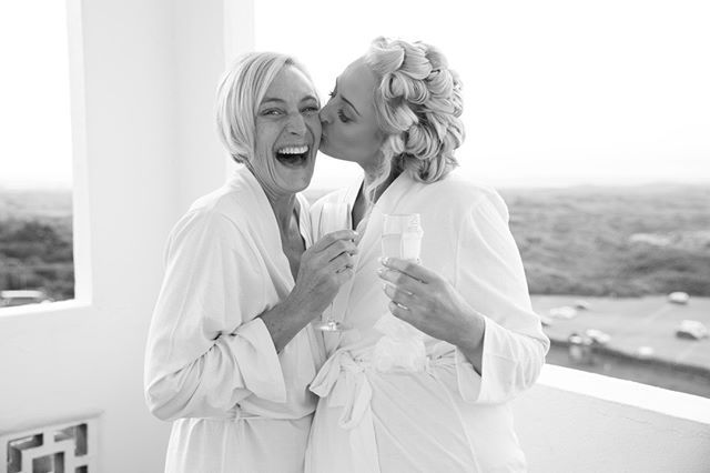 Mother and daughter moments on your wedding day are so beautiful.  It maybe getting ready with your mum walking with her down the aisle or sharing a memorable dance.  These little things turn an ordinary wedding into an unforgettable day  . . . . . . #weddingday #weddingpreparations #bridalprep #happybride #motherofthebride #laughter #motheranddaughter #happy #blackandwhite #realbride #weddingphotographer #devonweddingphotographer #naturalstylephotography #modernphotography #naturallight…