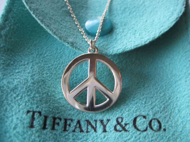 12 best peace sign jewelry images on pinterest peace signs sterling silver large peace sign pendant necklace audiocablefo
