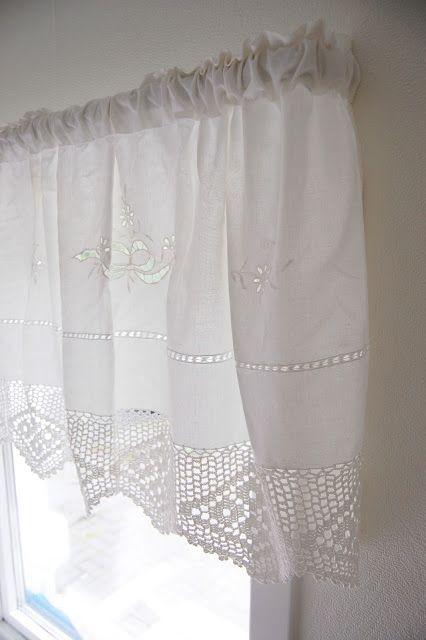 love this curtain!!! (Norwegian farmhouse)