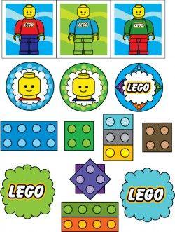 Free Printable Lego Stickers