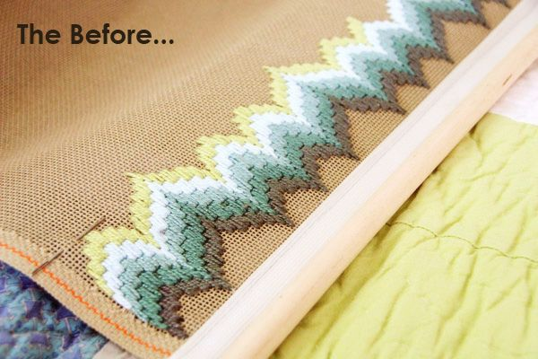 Bargello Needlepoint | Dottie's Kraft Korner :: Attack of the UFO Update. – Modern Kiddo