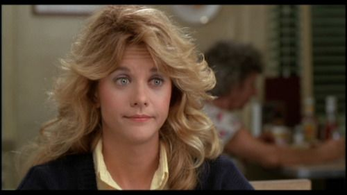 Sally Albright is just the cutest darn thing ever. Meg Ryan is pretty cool too.: