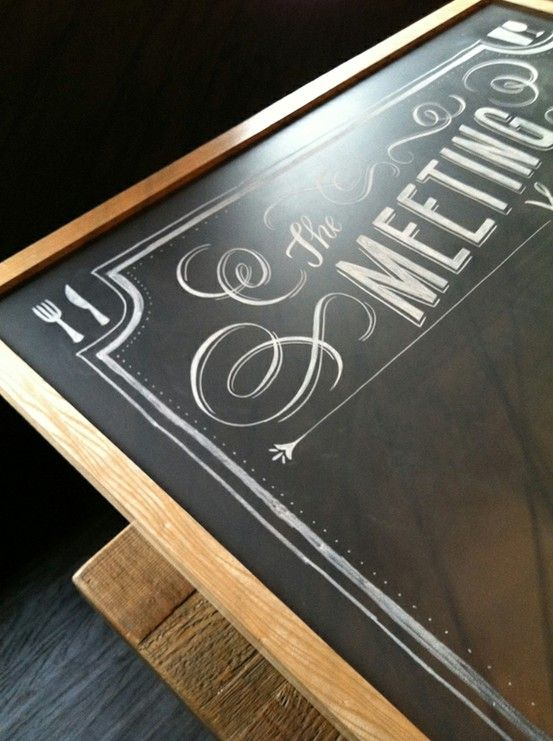 180 Best Images About Chalkboard Typography On Pinterest