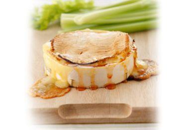 Camembert cuit au piment doux