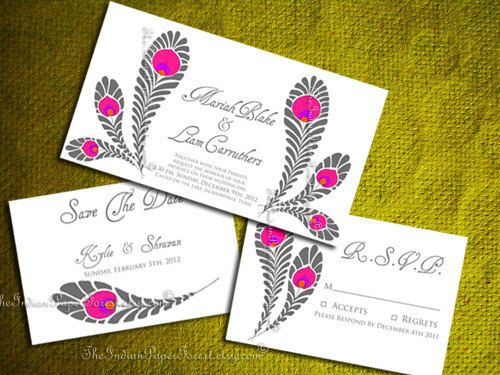 52 best indian wedding invitation cards design images on pinterest hey i found this really awesome etsy listing at https wedding invitation card designindian wedding invitationsfeather stopboris Choice Image