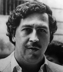 Pablo Emilio Escobar Gaviria (December 1, 1949 – December 2, 1993) was a Colombian drug lord and narcoterrorist. He was an elusive cocaine trafficker and a rich criminal.  In 1983, he had a short-lived career in Colombian politics.