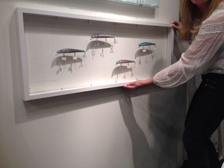 Testar nytt på Marina tavlor under jul på Liseberg