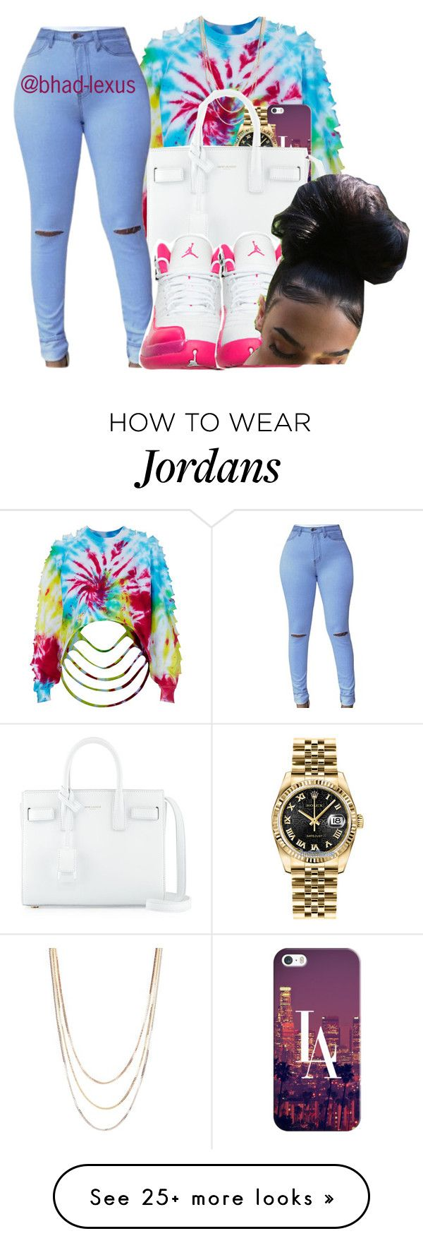 """"""""""" by bhad-lexus on Polyvore featuring The Ragged Priest, Casetify, Savvy Cie, Rolex and Yves Saint Laurent"""