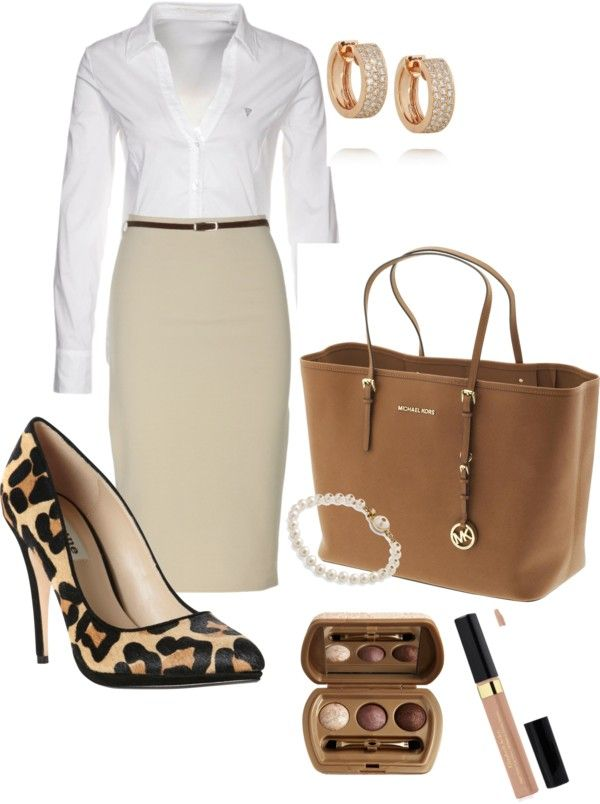 """leopard & kaki"" by adrianamijangos on Polyvore"