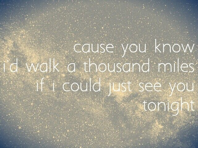 if i could... (A Thousand Miles-Vanessa Carlton)