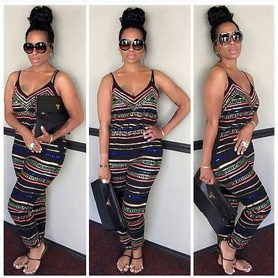 Evening Party Playsuit Ladies Romper Plus Size,Free Shipping