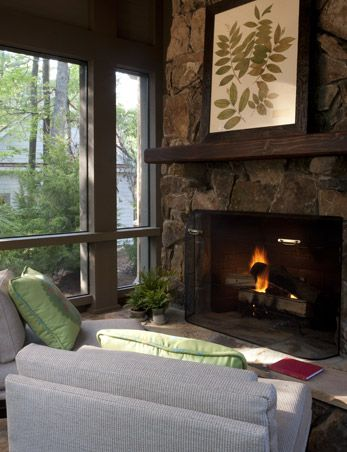 163 best images about blackberry farm inn on pinterest for Four season rooms with fireplaces