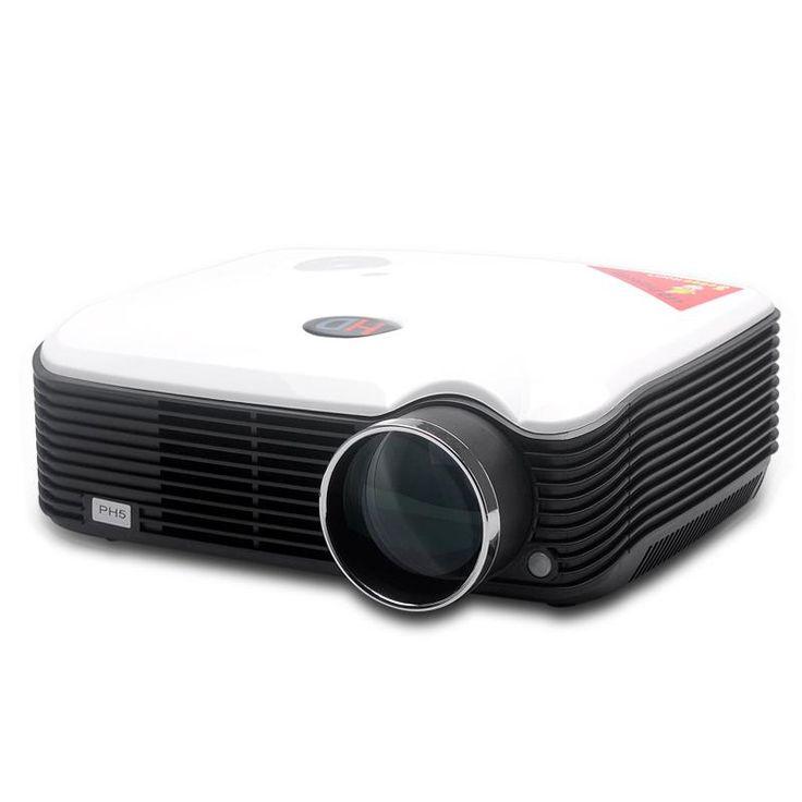 STA-ProHome PH5 LED proyector - 2500 lúmenes, 800 x 600, 30 a 150 pulgadas de imagen