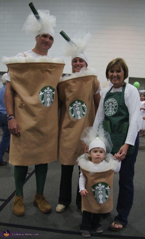 starbucks family halloween costume contest at