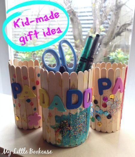 7 wonderful popsticks penpencil holders  Best out of Waste