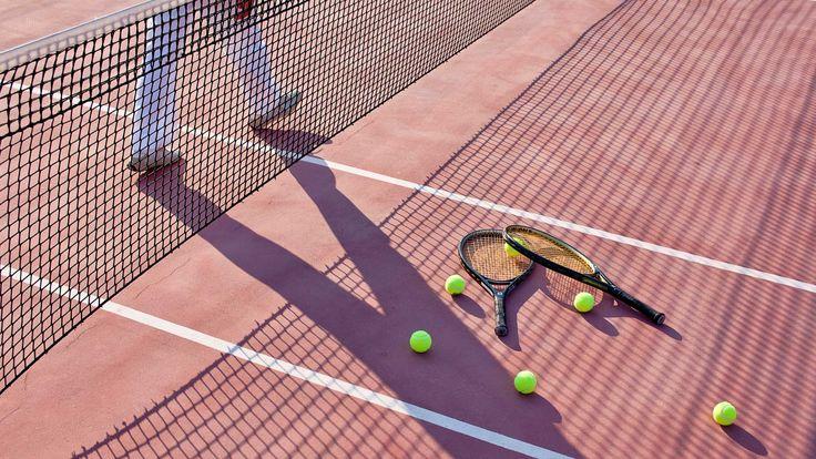 #Tennis court! #AnemiHotel #Folegandros