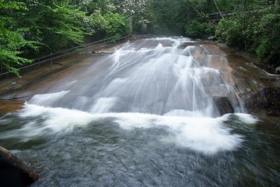 Sliding Rock....Maggie Valley......... North Carolina