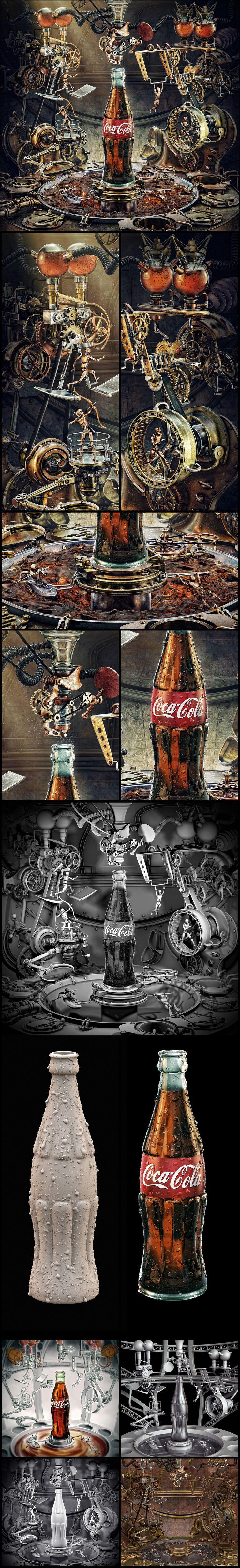 Coca Cola Olympic Games_clouce up by AleksCG.deviantart.com on @deviantART