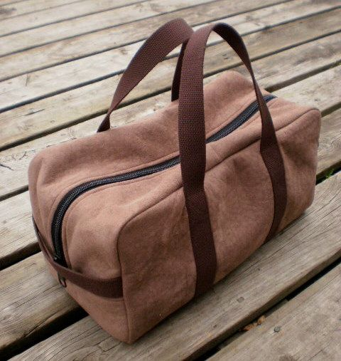 Intrepid Duffle Bag Pattern by Guy Latulippe