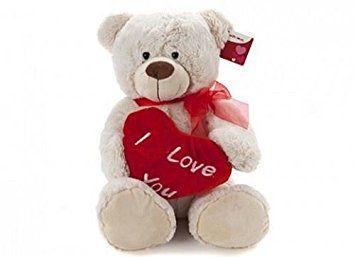 San Valentín Oso de peluche con corazón