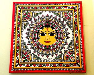 Surya (Sun) in Motifs of Mithila                                                                                                                                                                                 More