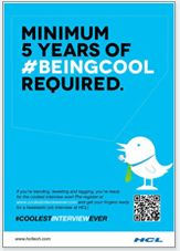 Coolest Interview Ever - minimum 5 years of being cool required #Digitalmedia #socialmedia #coolestinterviewever @667 / Technologies