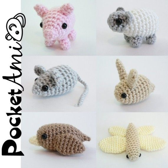 crocheted animal patterns