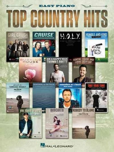 Top Country Hits: Easy Piano