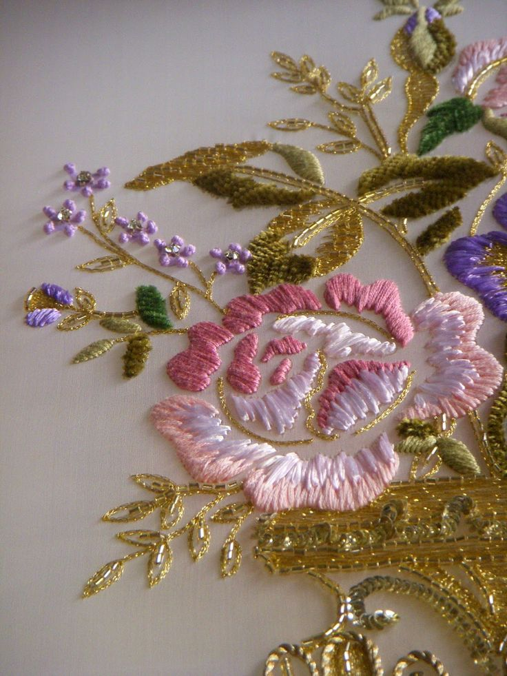 Pin by Stacy Mishina on Embroidery: Crewel & Satin Stitch ...
