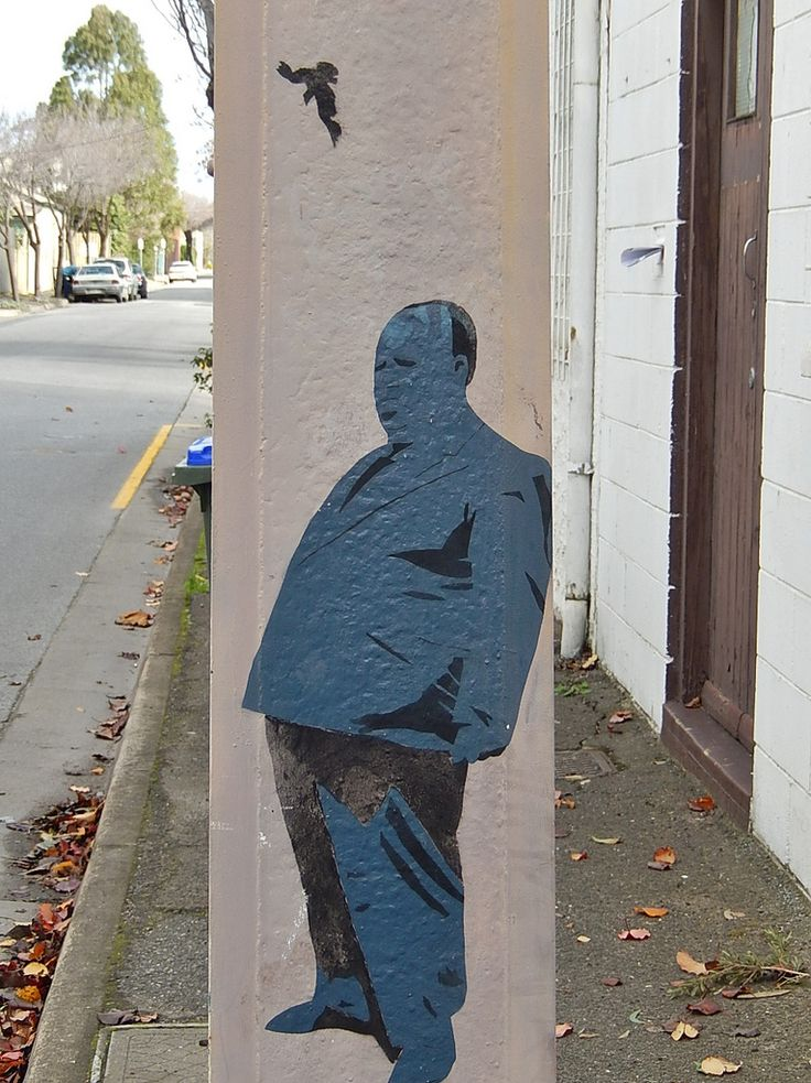 Bird and Fat Man | Flickr - Photo Sharing!