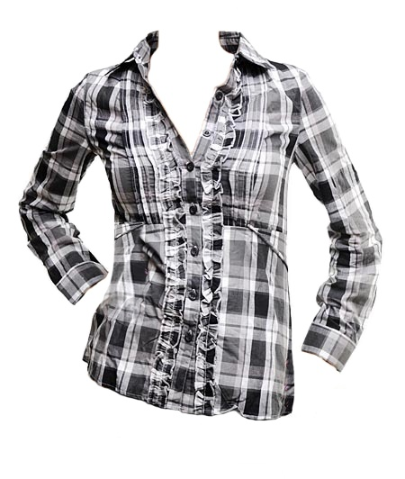 Grey Button-Up Shirt (CLEARANCE) - $10