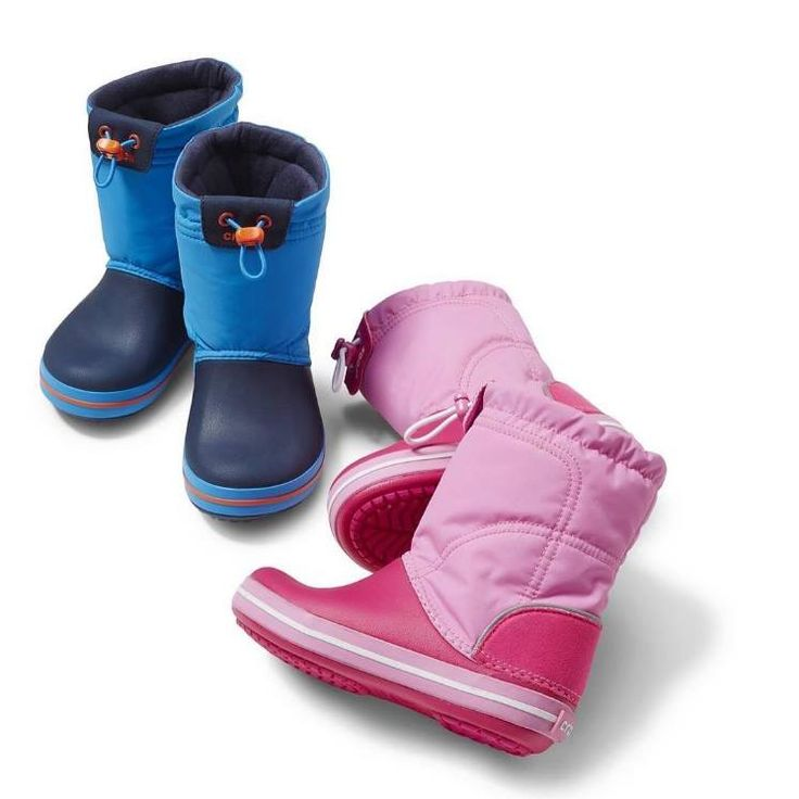 Keep them dry and in style with rainboots CROCS!