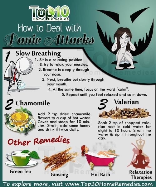 How to Deal with Panic Attacks.  Here are simple natural remedies for it. #panic #attacks