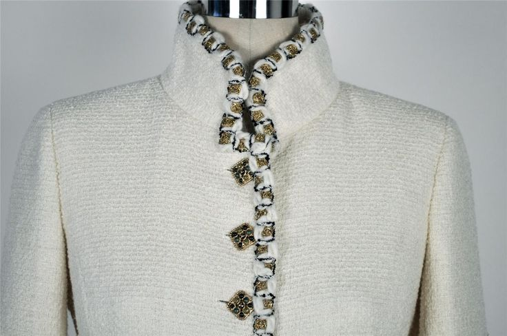 Chanel Jacket Trim Detail
