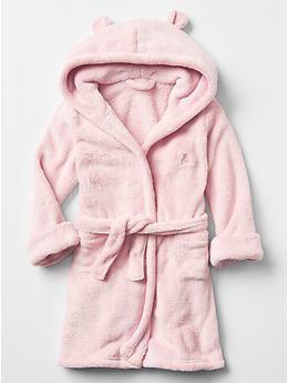 Fleece bear robe   Gap