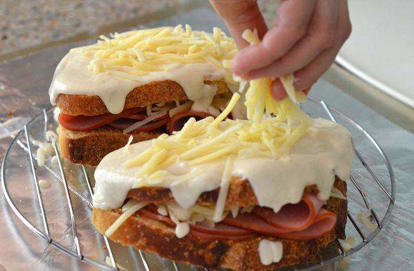 French Food Recipes Croque Monsieur