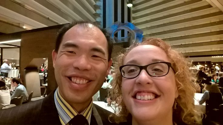 With @FIT_President #ata57 #tweetup