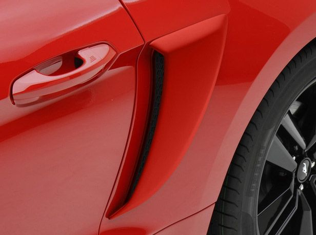 PAINTED!!! 2015-2017 Ford Mustang Quarter Panel Scoops    https://www.partscheap.com/warp-2015-2017-ford-mustang-quarter-panel-scoops-painted-vgr3z-63279d36-ap